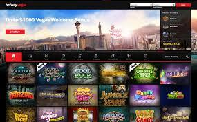 Betway Vegas casino machine à sous